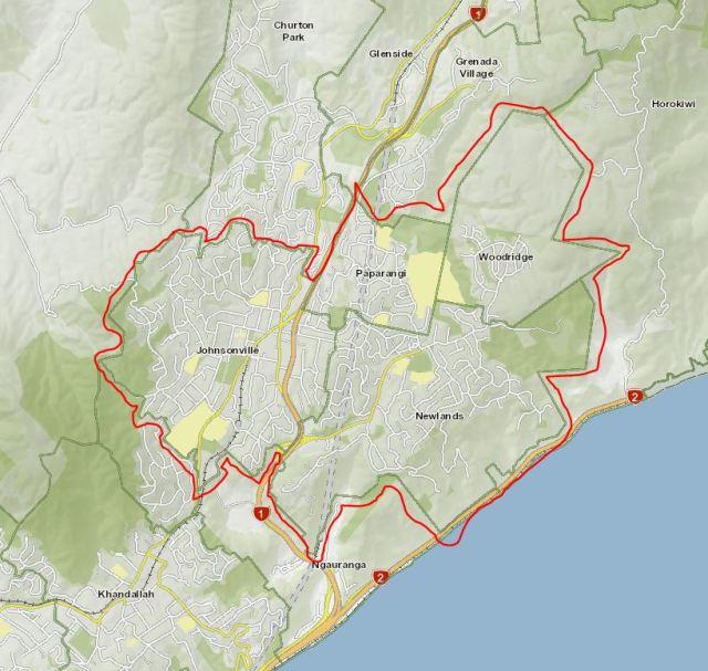 Jville-Newl Cty Bd map