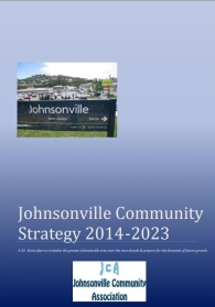 The cover of the Johnsonville Community Strategy 2014-23